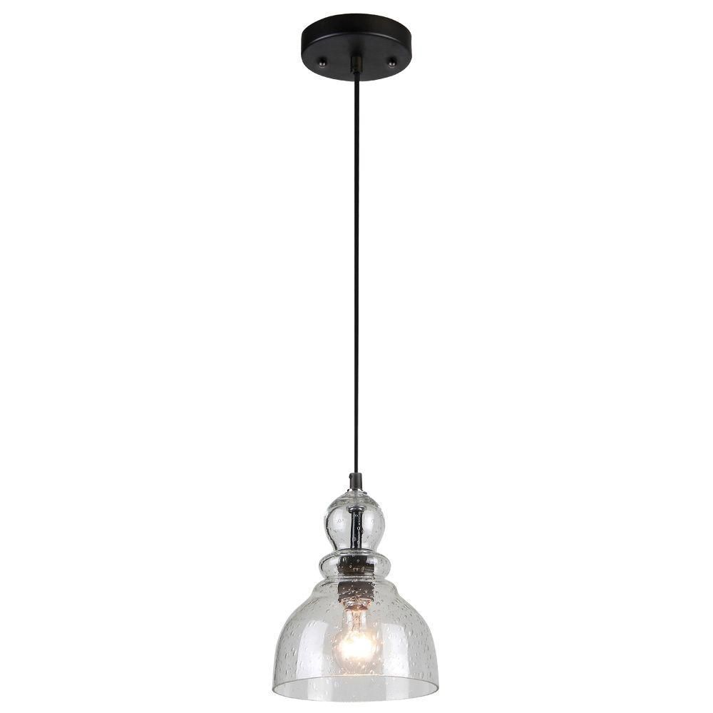 Kitchen Light Fixtures Home Depot Westinghouse 1 Light Oil Rubbed Bronze Adjustable Mini Pendant