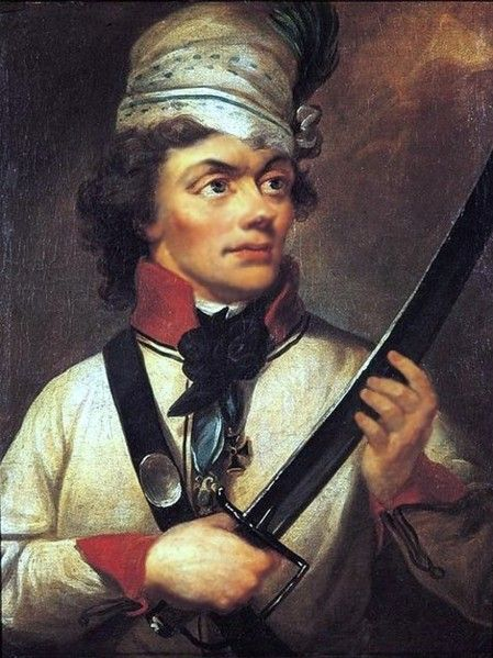 Tadeusz Kosciuszko - Polish hero of the American Revolution - on learning of the American Revolution, Kościuszko, sympathetic to the American cause and an advocate of human rights, sailed for America in June 1776 along with other foreign officers, likely with the help of a French supporter of the American revolutionaries, Pierre Beaumarchais.On August 30, 1776, Kościuszko submitted an application to the United States Congress; he was assigned to the United States War Department the next day.