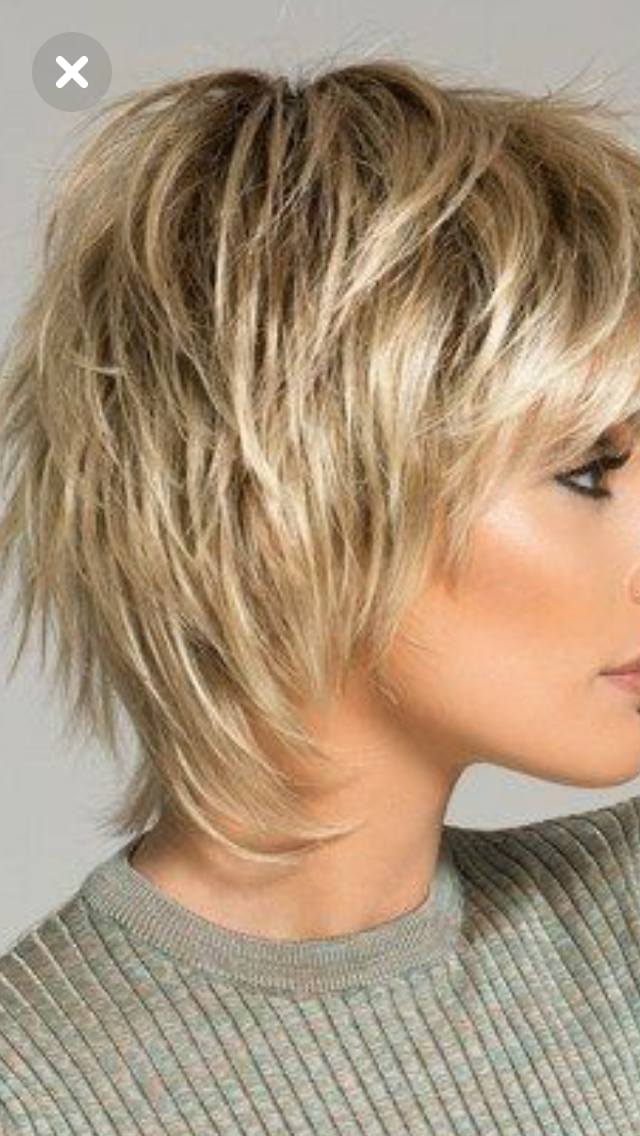 Get Confused Between Messy And Shag Hairstyles Next Step Is Keeping It Simple By Choosing The Craf Shag Hairstyles Short Shag Haircuts Short Shag Hairstyles
