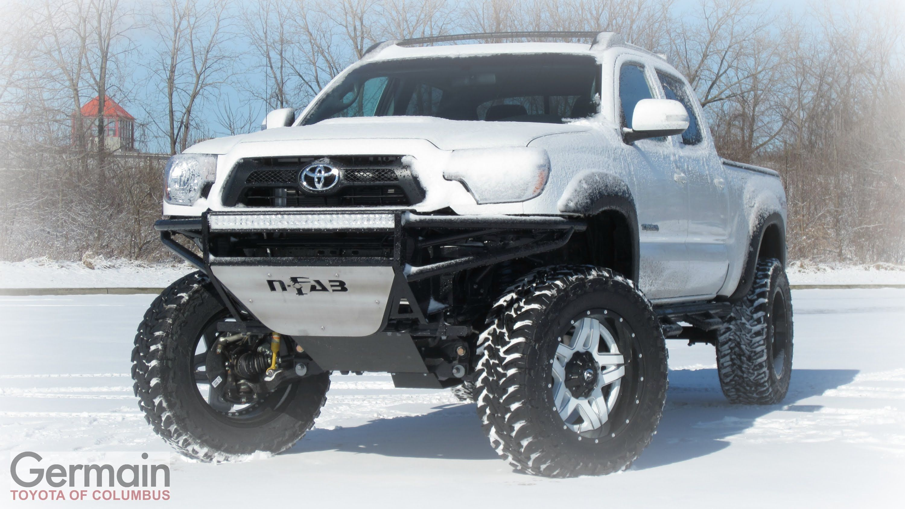 Check out this lifted 2015 toyota tacoma with a lot of crazy upgrades