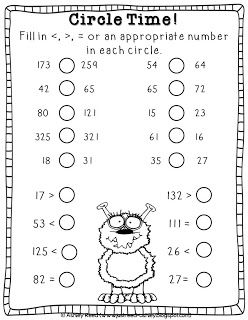 Just Reed Max The Math Monster Greater Than Less Than Unit