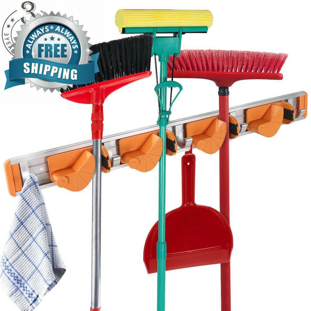 EBay #Sponsored Mop And Broom Holder Garage Storage