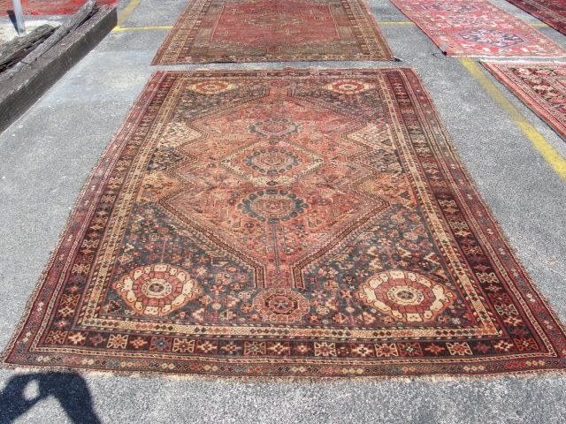 I Want A House Full Of Worn Antique Persian Rugs