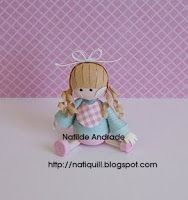 NatiQuill Blog: Bonequinha Mini