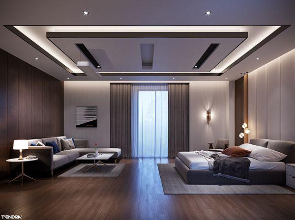 Unirse A La Conversacion Puedes Agregar Tus Comentarios Para El Proyecto De Mahmoud In 2021 Bedroom False Ceiling Design Ceiling Design Living Room Bedroom Pop Design Bedroom interior ceiling design