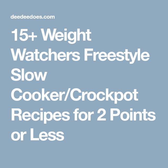 Ww Crockpot Recipes Freestyle Chicken