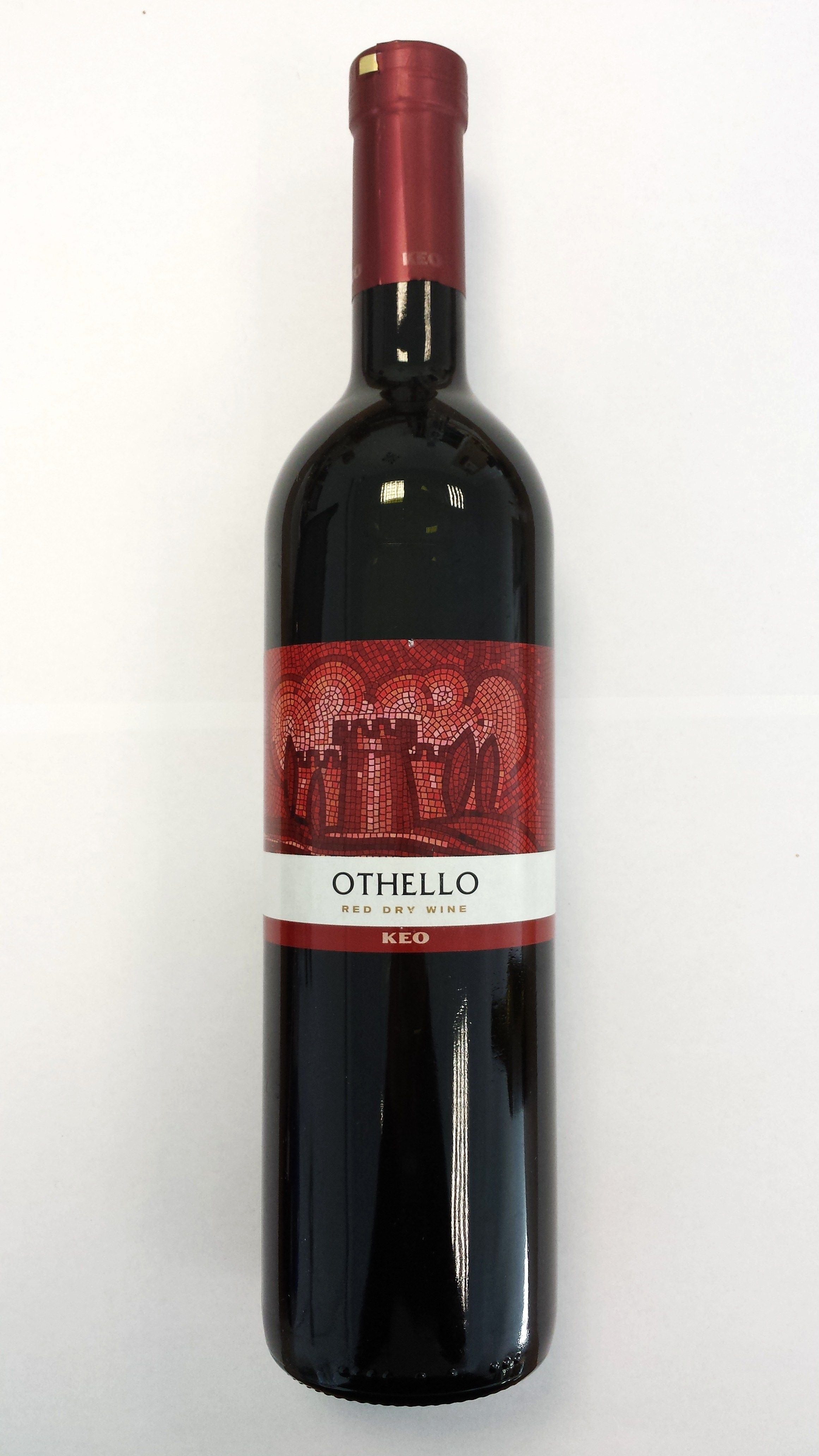 Othello Red Wine 75cl Wine Greek Wine Red Wine Dry Wine