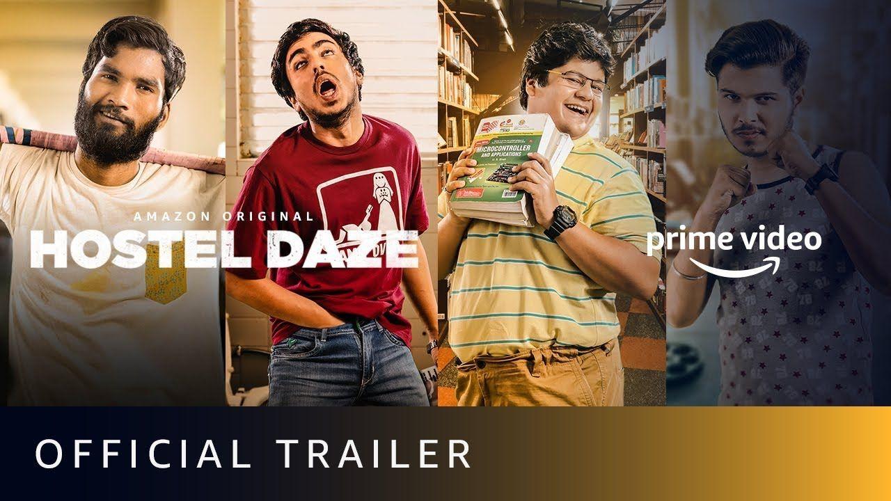 Amazon Prime India Hostel Daze Inditelenews Hindi Web Series In 2020 Amazon Prime Video Web Series Prime Video