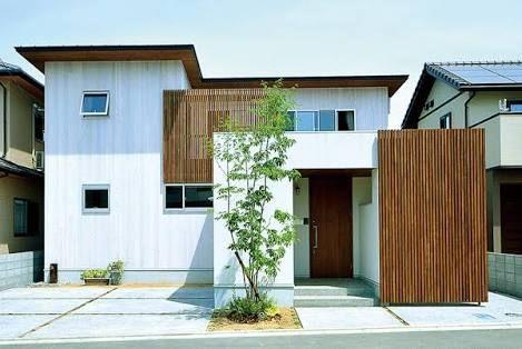 外観 おしゃれ 木 の画像検索結果 住宅 外観 家 家 外観