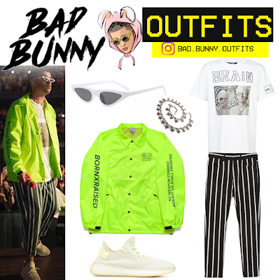 Bad Bunny Outfits Bad Bunny BornxRaised badbunny in