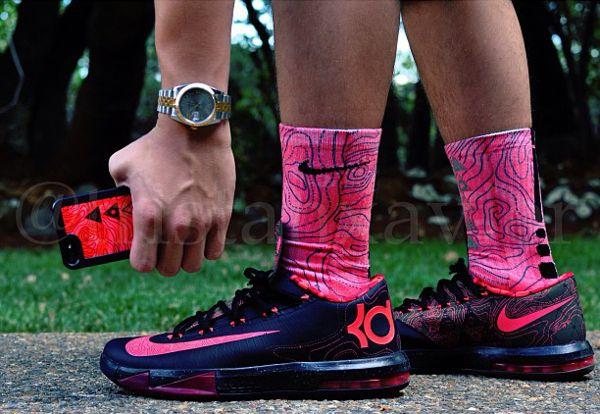 innovative design f8a43 cf5e8 nike-kd-6-meteorology-tristanxavie Swag Shoes, Kd Shoes, Nike