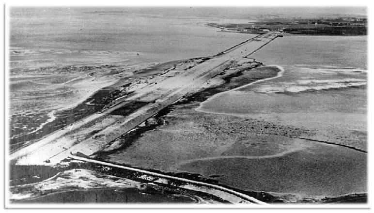 West-Friesland - Amsterdiepdijk (korte afsluitdijk) 31-07-1924