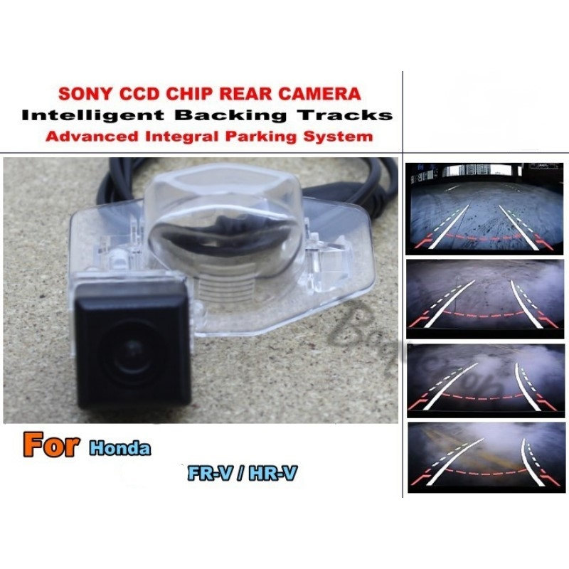 54.20$  Watch now - http://alizou.worldwells.pw/go.php?t=32419430705 - For Honda FR-V FRV / MR-V MRV Smart Tracks Chip Camera / HD CCD Intelligent Dynamic Parking Car Rear View Camera 54.20$