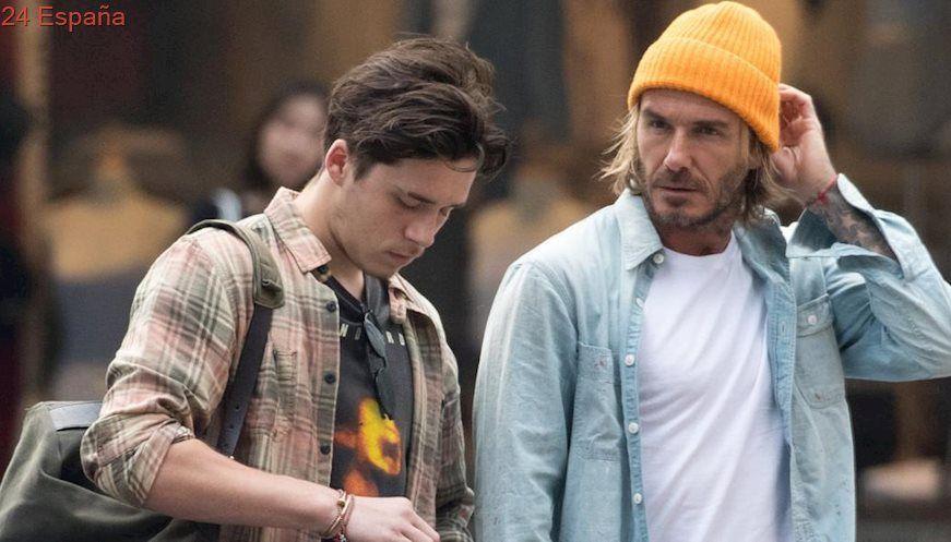 David Beckham guía a Brooklyn en sus primeros días por Nueva York