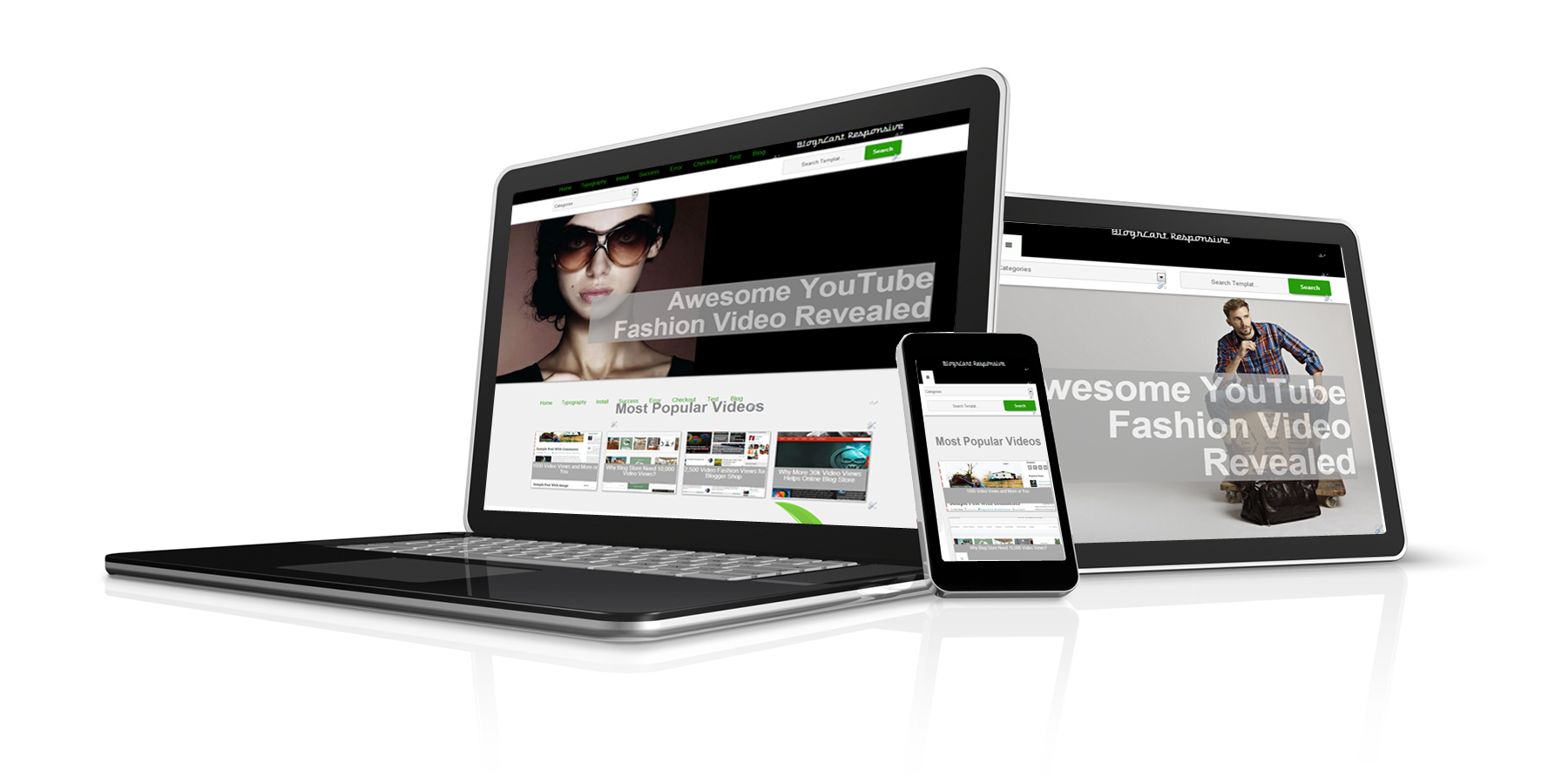 Newest addition Blogger shopping cart template responsive and e ...