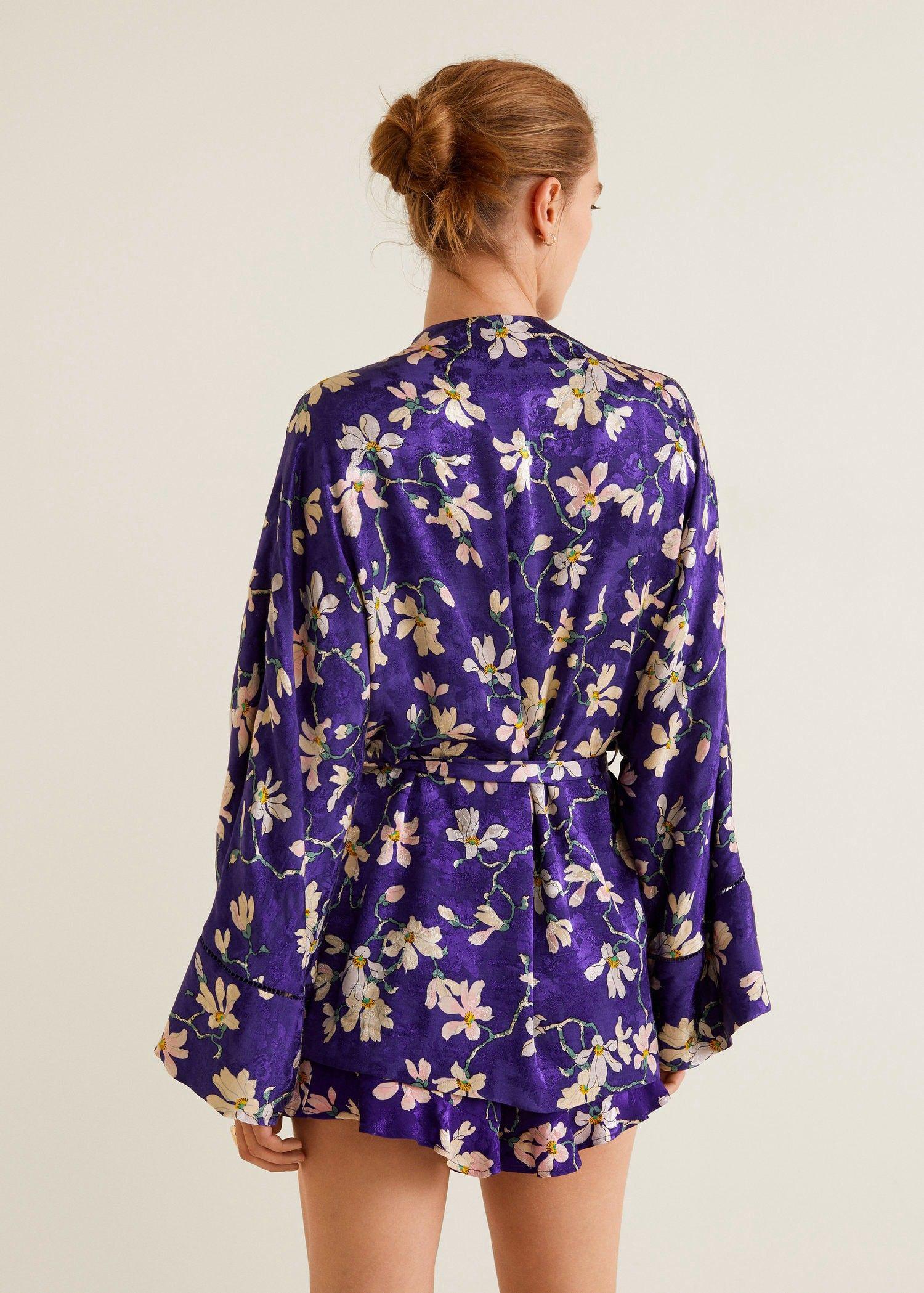 Código promocional tienda del reino unido super popular Mango Floral Print Kimono - Xxs-Xs | Products | Floral prints ...