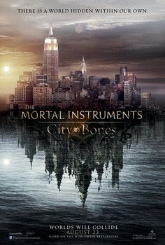 The Mortal Instruments: City of Bones | Based on a YA book series by Cassandra Clare | Release Date: August 23, 2013