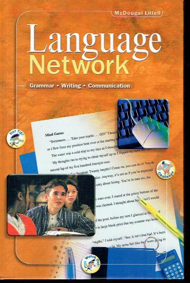 McDougal Littell Language Network 9th Grade High School
