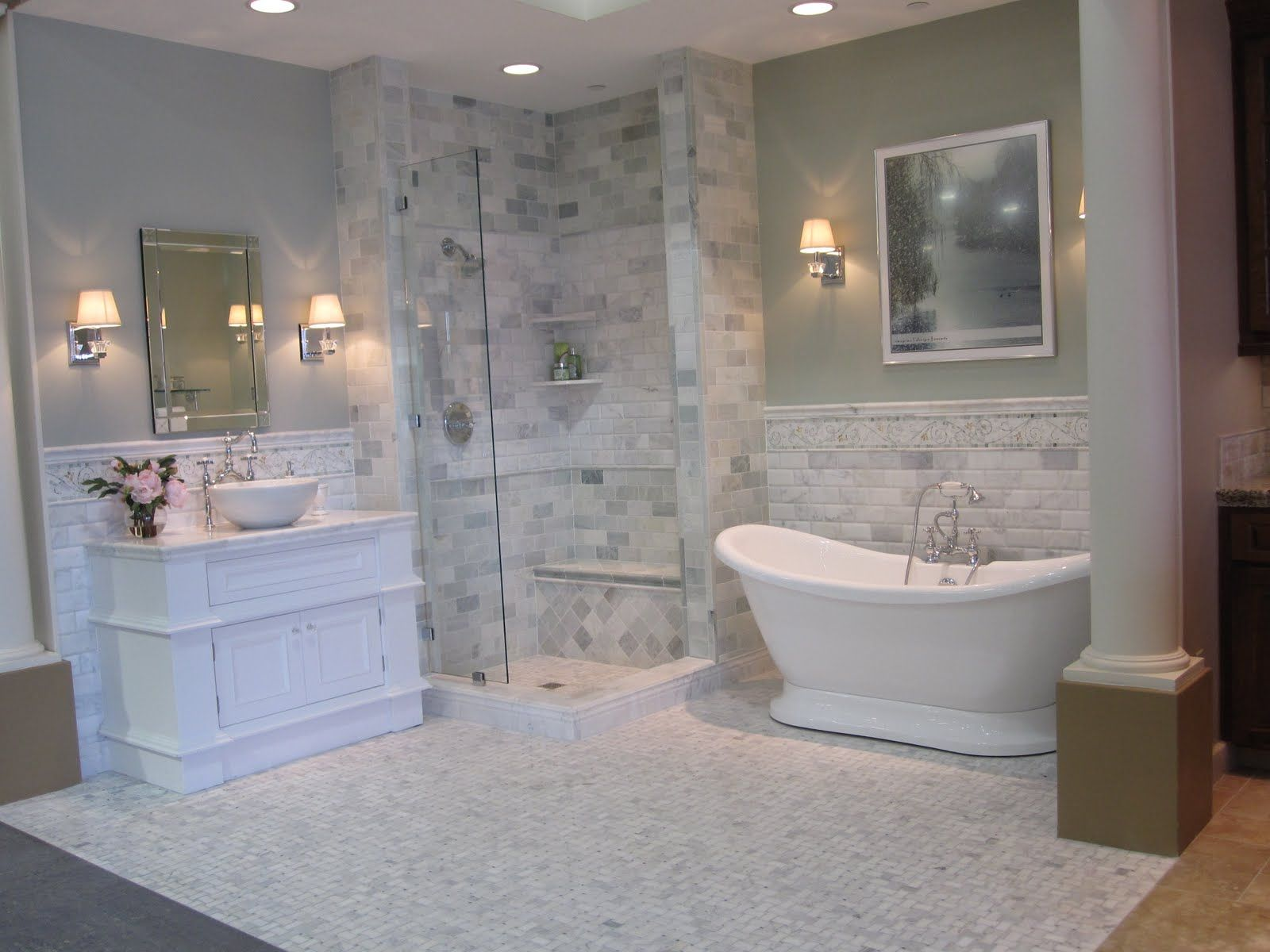 Biltmore tile bath bano pinterest green marble marble tiles biltmore tile bath green marblethe dailygadgetfo Choice Image
