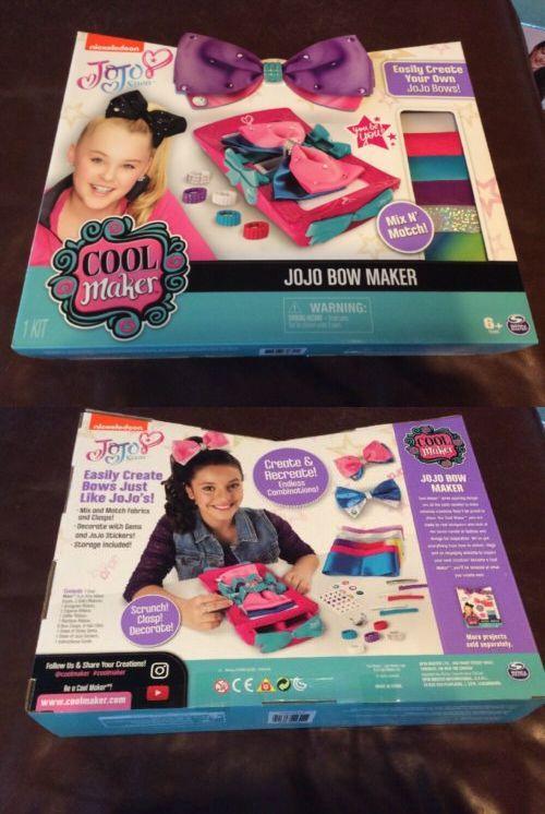 Hair Accessories 57920: Cool Maker Jojo Siwa Bow Maker Toys R Us
