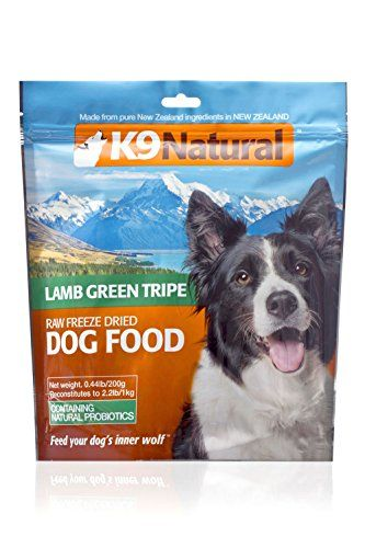 K9 Raw Freeze Dried Natural Pet Food 044pound Lamb Green Tripe You Can Find Out More Details At The Lin Food Animals Natural Pet Food Freeze Dried Dog Food