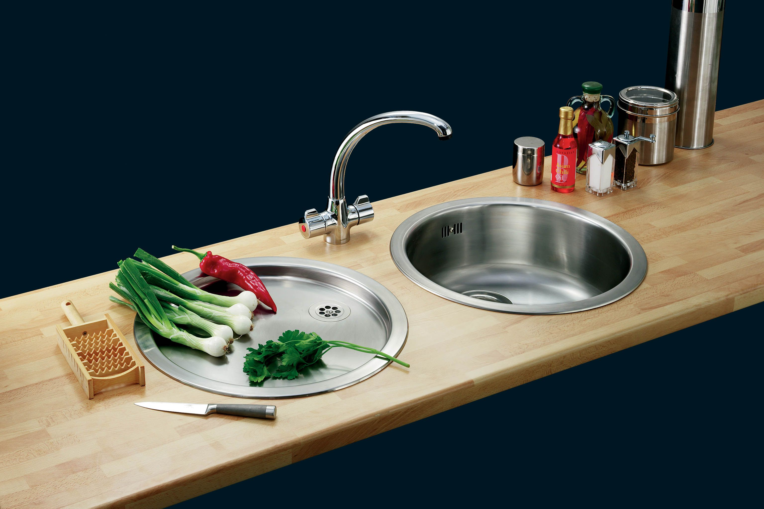 Blanco Rondo Set Stainless Steel Kitchen Sinks