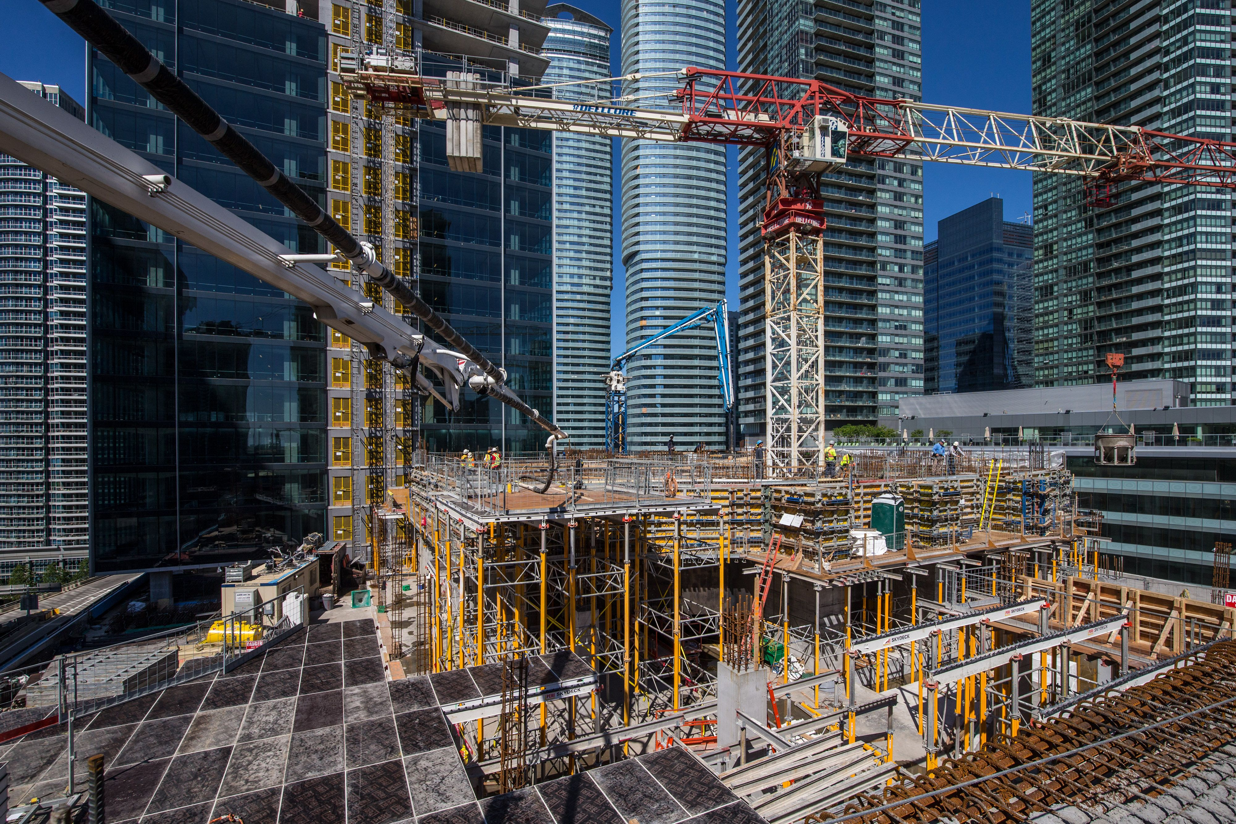 Construction Progress at Harbour Plaza - June 2015