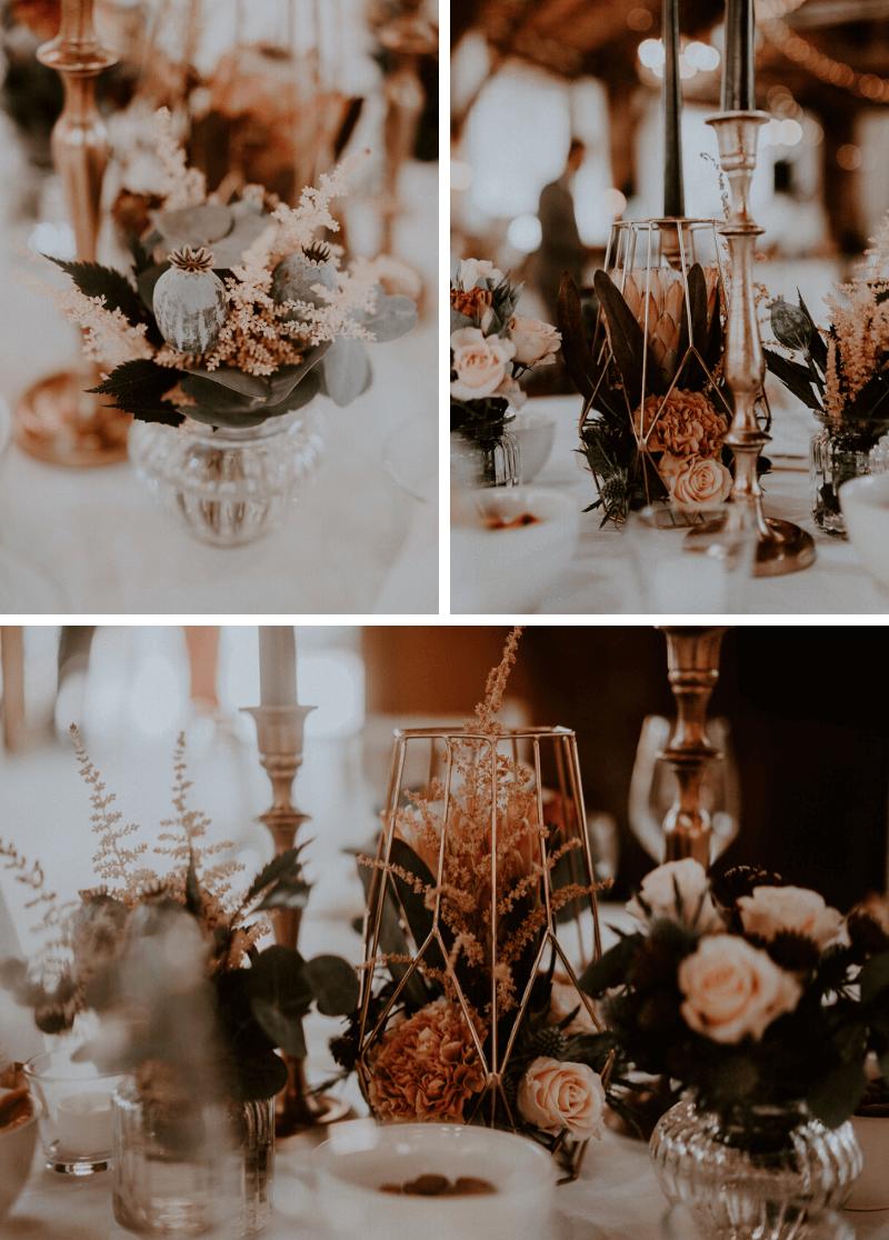 Elena und Karim: romantische Boho Hochzeit in Kupfer – Hochzeitskiste