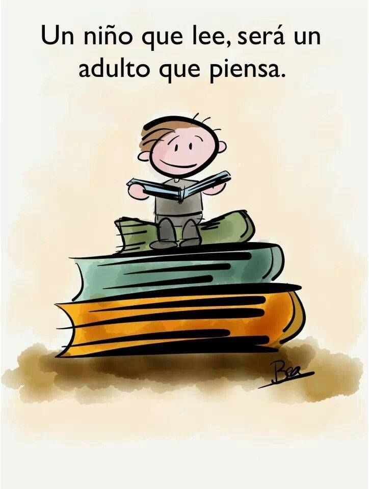 Spanish Quote About Kids Reading Frase Sobre Leer Frases De Ninos Frases De Lectura Frases De Educacion