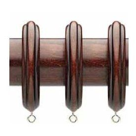 Wood Rings For Use With 2 1 4 Inch Diameter Wooden Curtain Rods