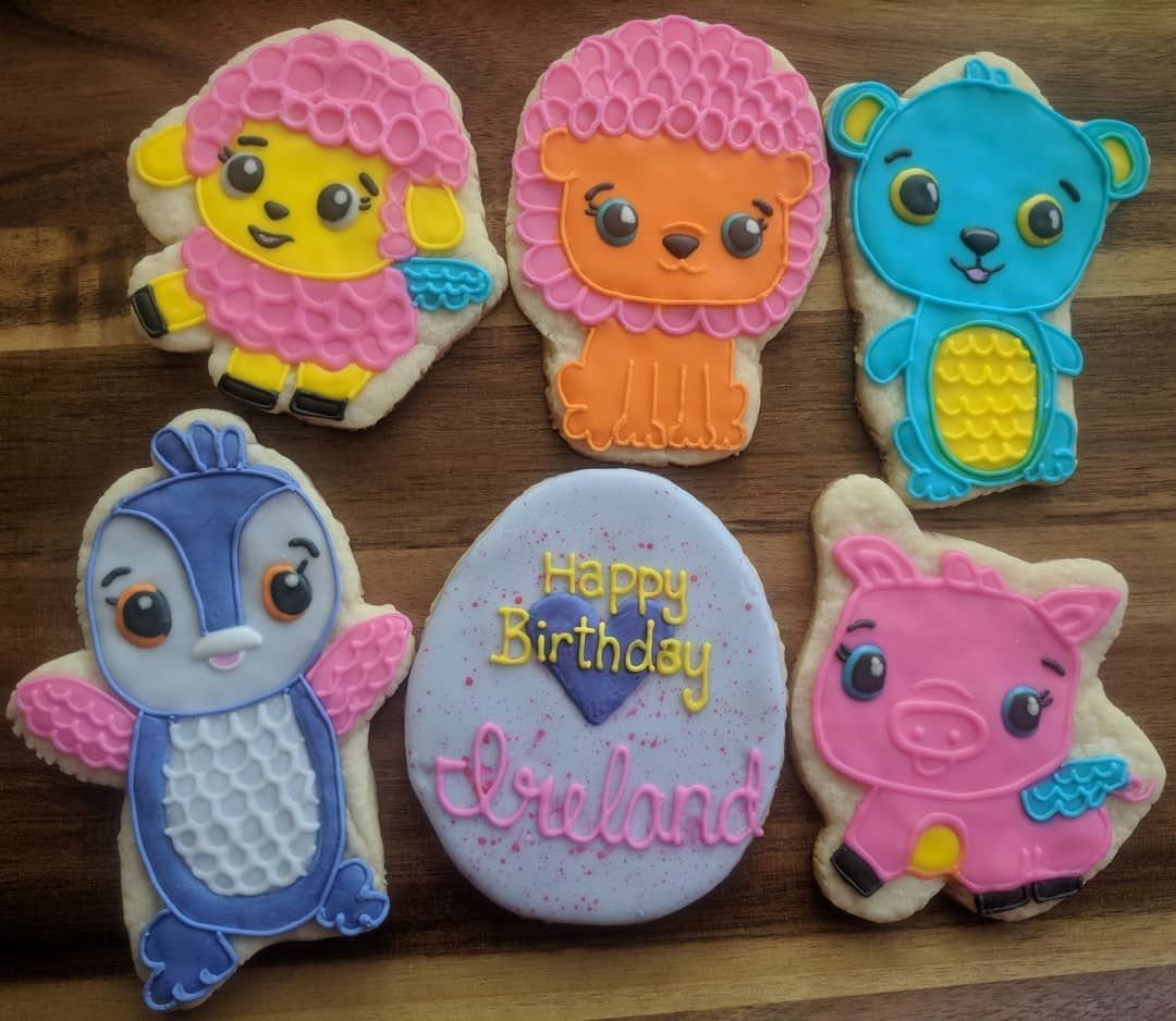 hatchimal cookies gonyasgoodies decoratedcookies