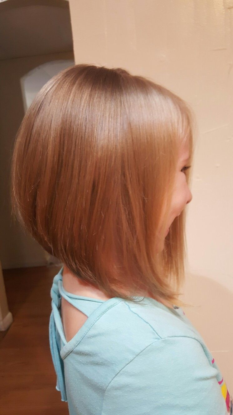 Stacked bob haircuts for kids