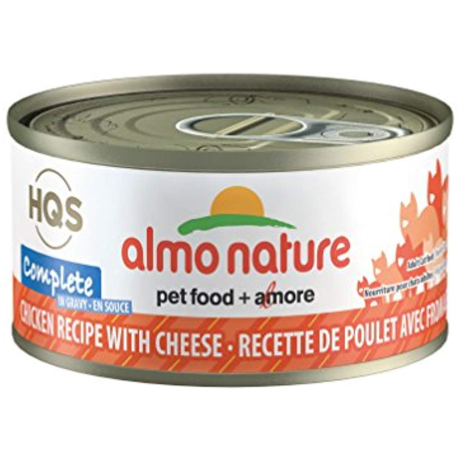 Almo Nature Complete Cat Chicken with Cheese In Gravy (12