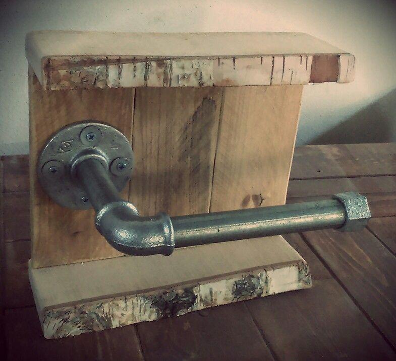 Accesorio ba o rustico estilo vintage industrial - Decoracion industrial vintage ...