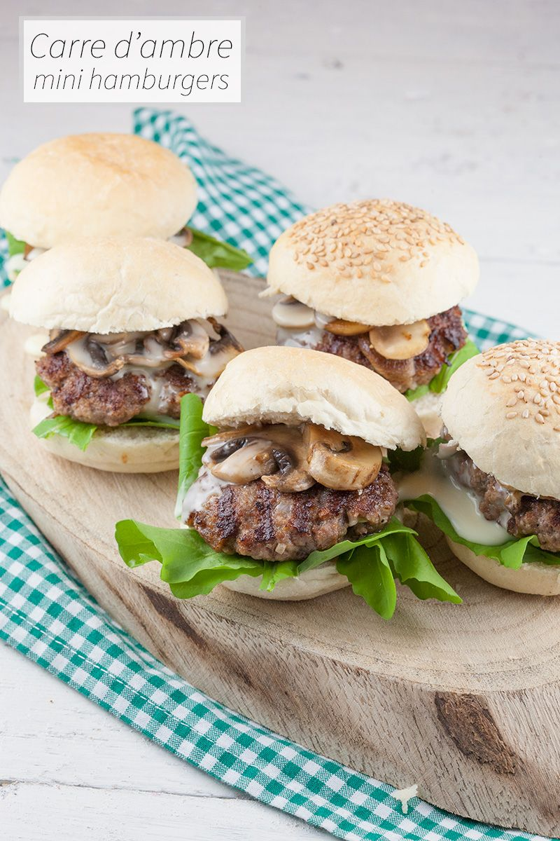 Carre D Ambre Mini Hamburgers Ricette