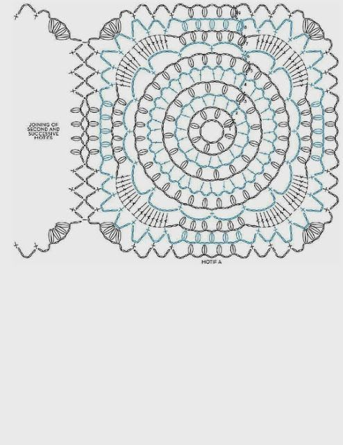 Capa-Torera Mariposa Crochet Patron - Patrones Crochet   Granny ...