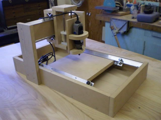My Desktop Cnc Build Many Pictures Mechanical