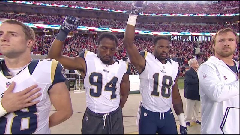 Image result for FINALLY: NFL Player BOOTED for Disrespectful National Anthem Protest...