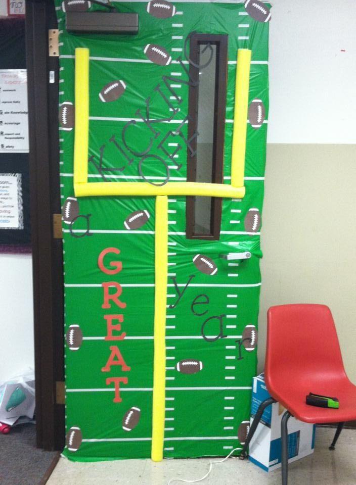 Sports Theme Classroom Door Classroom Themes Sports