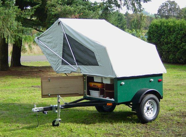 i dont plan to start trailer camping anytime soon but this is really - Tiny Camping Trailers