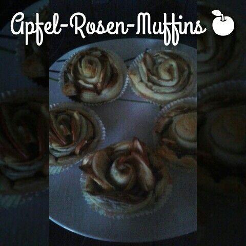 Leckere Apfel-Rosen-Muffins Ganz einfach
