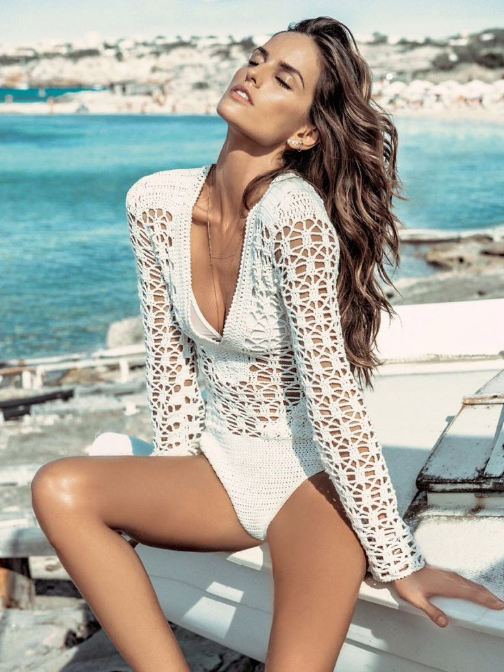 crochet cover up with swimwear