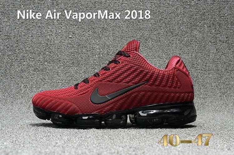new arrival 3c1b1 2ec10 Nike Air Vapor MAX 2018 KPU Running Men Red Black 40-47
