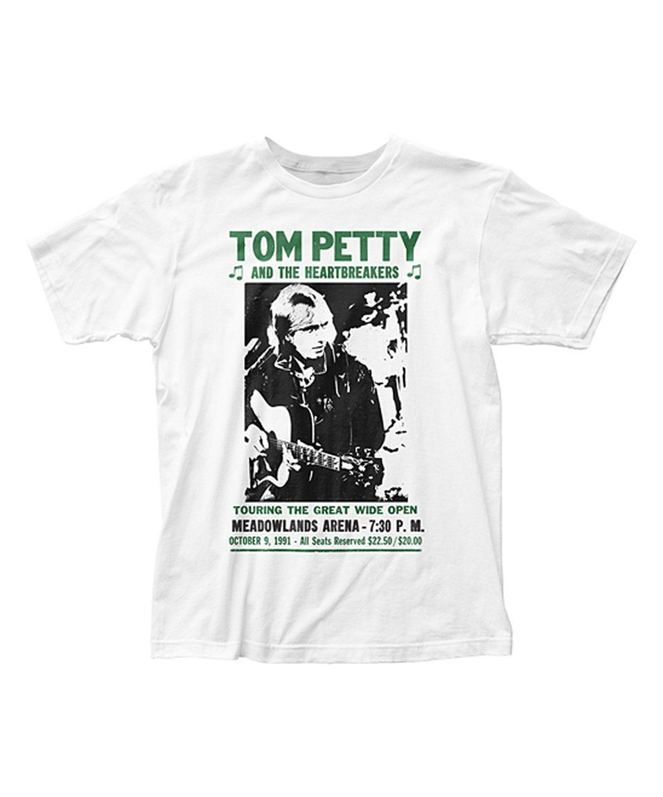 Take a look at this Tom Petty And the Heartbreakers 'Wide Open' Tee - Men's Regular today!