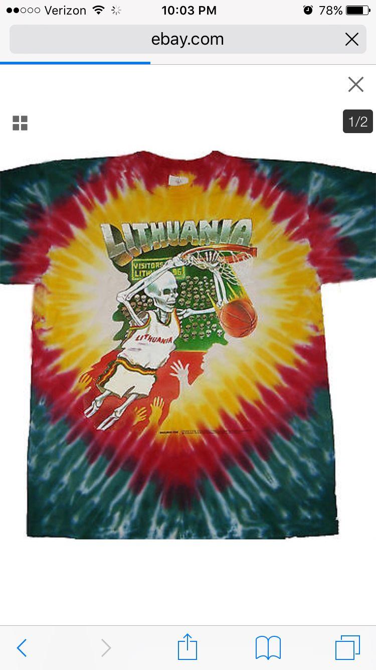 1992 Lithuanian Basketball Team T Shirt Carrerasconfuturo Com