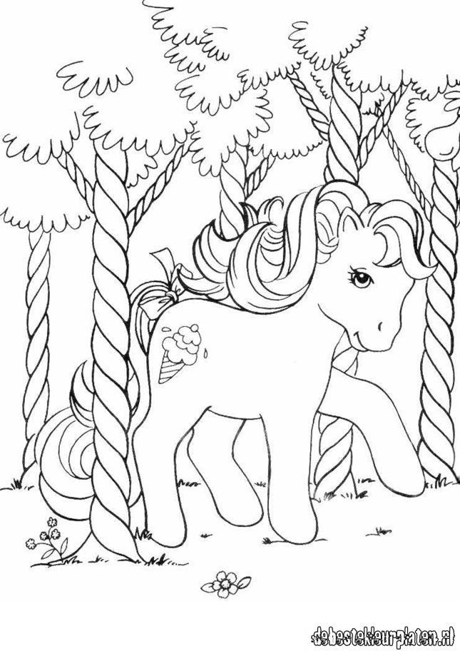 My Little Pony coloring page Swirly Whirly My little pony