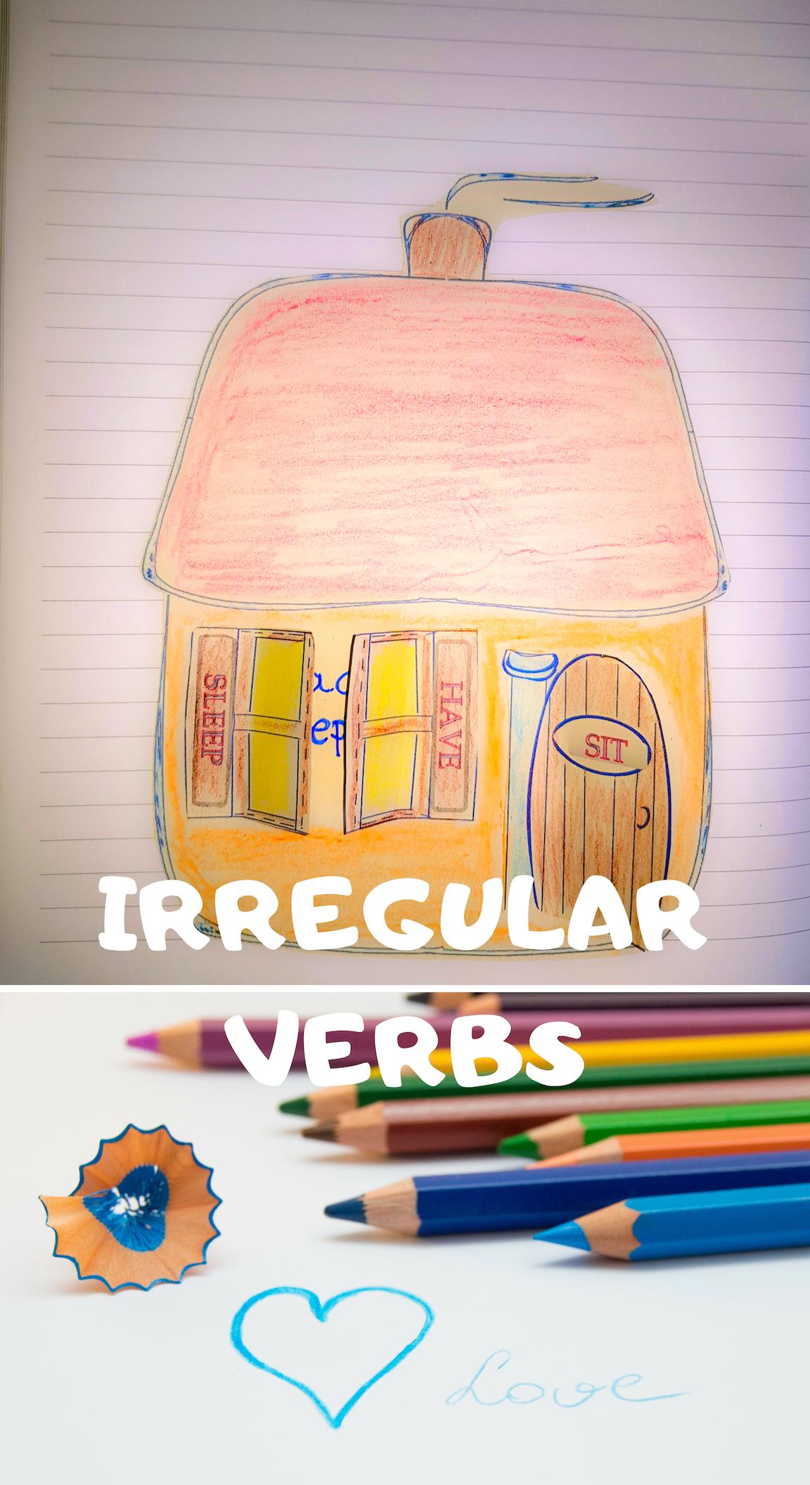 Irregular And Regular Past Tense Verbs