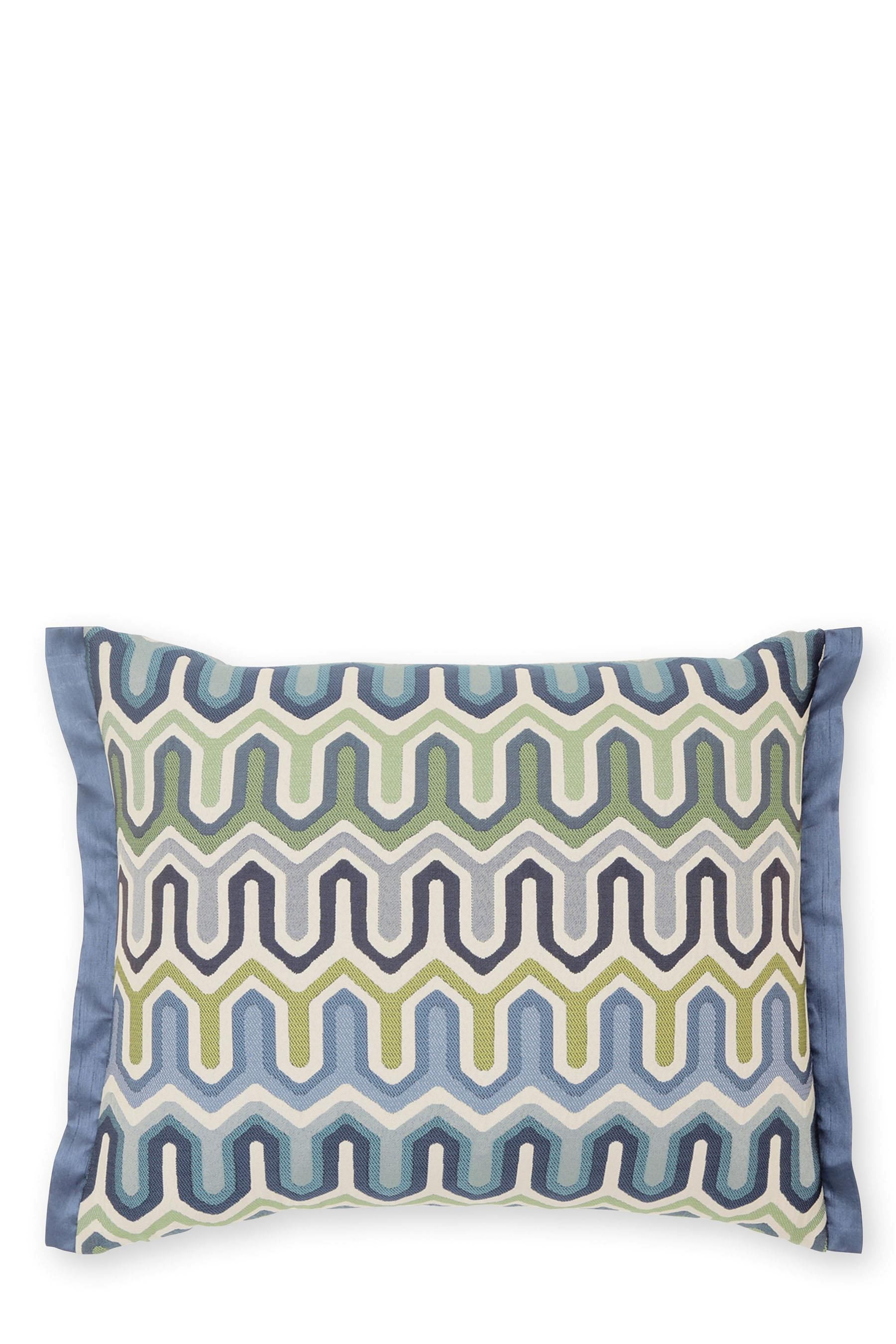 Buy Teal Woven Geo Cushion From The Next Uk Online Shop Cushions