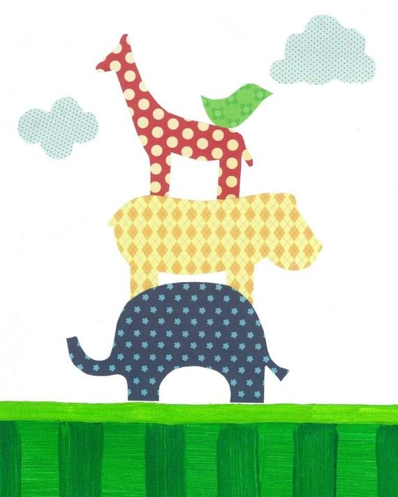 Jungle Nursery Art 8x10 Nursery Wall Art PRINT by justbunch, $17.00 ...