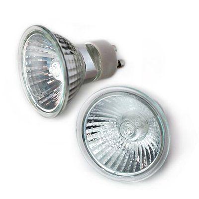 Etoplighting Gu10 12v 50w 2p Gu10 Halogen 12 Volt 50 Watt Light Bulb 2 Pack Light Bulb Halogen Light Bulbs Watt Light